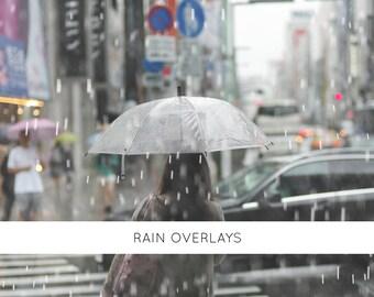 26 Rain overlays, photo overlays, raindrop, wet look, photoshop overlays, weathered raindrop, rain photo, photography backdrop,  digital art