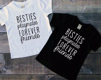 Forever friends shirt, best friend shirt, matching shirts, coordinating shirts, bestie shirt, friends forever shirt, forever friends
