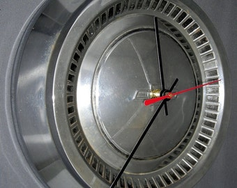 1964 Chevy Hubcap Clock - Chevrolet Impala 409 SS, Bel Air, Biscayne