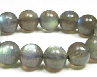 6mm Very Beautiful Iridescent Labradorite Round Bead - 15 beads - #GS7220