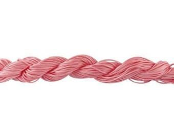 Pink nylon string 22 meters