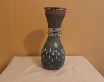 Handcraft ombre bouquet vase