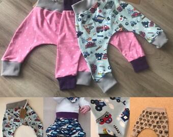 3-4 years Custom made Harem Pants