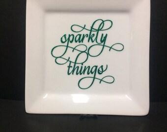 Ring Dish, jewelry holder, wedding ring dish, engagement ring dish, jewelry dish, engagement gift, wedding gift, wedding, bridal gift