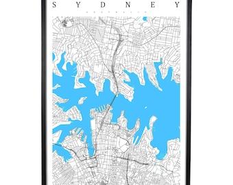 Sydney - Australia Map