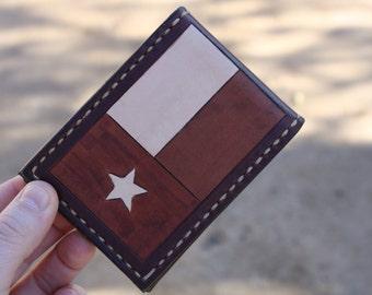 Texas Card Wallet w/ Money Clip