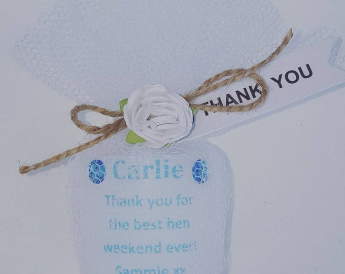 Custom made personalised candle with any wording Baby shower Wedding Communion Christening