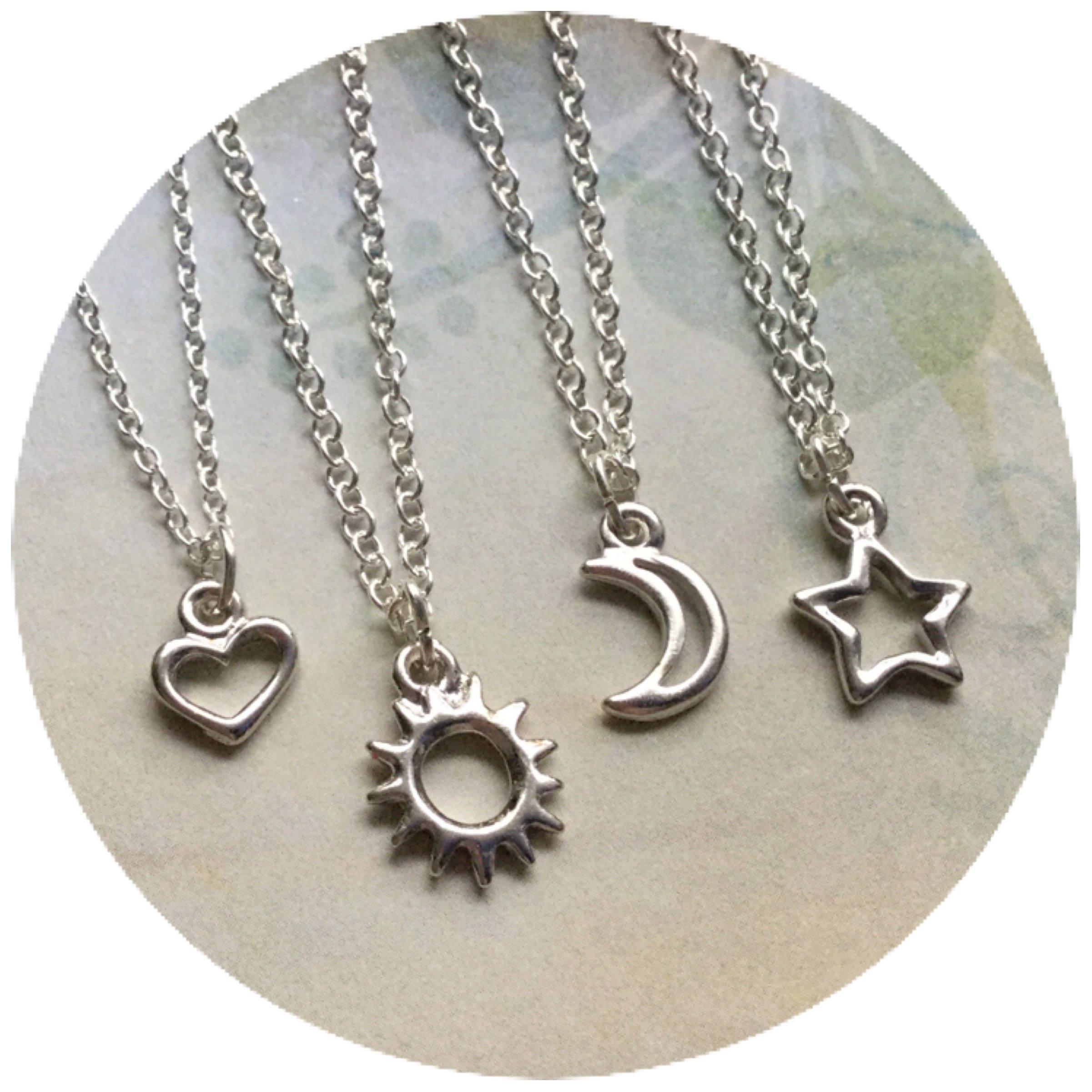 the sun combine a features in silver plain this thailand khun and beautiful star silversmith s moon of products details version necklace o personified celestial pendant pn necklaces sterling handmade embrace by aeravida expert