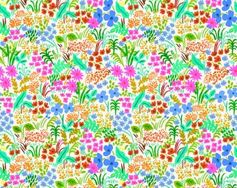 PRESALE: Meadow (cream fabric) from English Garden by Rifle Paper Co.