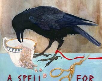 Un rituel pour l'impression de lâcher — Abacus Corbeau