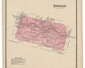 Newlin, PA Witmer 1873 Ma...