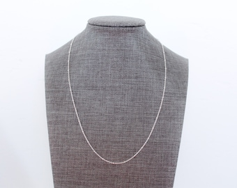 Sterling Silver Layering Necklace