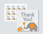 Printable Elephant Baby S...