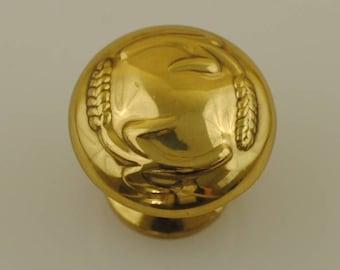 Solid Brass Drawer Pull 1 Piece