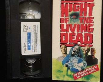 Night of the Living Dead (1990) VHS