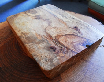 Pecan Live edge cutting board