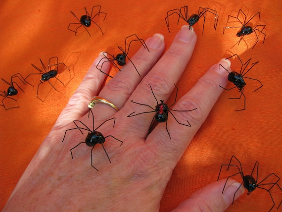 handmade black widow spiders black widow spider realistic