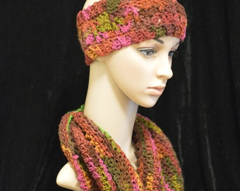 Ear Warmer and Cowl Set