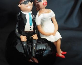 Custom made Bride and Groom wedding gift