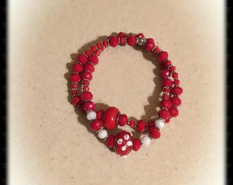 Crimson Red Stackables
