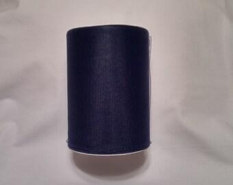 Navy Blue Tulle, Navy Blue Tulle Roll, Navy Blue Tulle 100 yards, 6 inch tulle roll, Tulle, Tulle Fabric, Tutu Tulle, Wedding Tulle