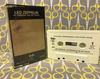 In Through the Out Door by Led Zeppelin Cassette Tape rock