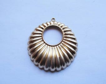 Solid Raw earring part (1 pc) #Sa-loop
