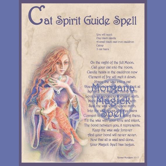 Cat Spirit Guide Spell