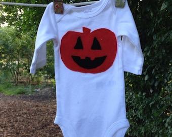 Pumpkin, Halloween, Jack- O- Lantern, Onesies