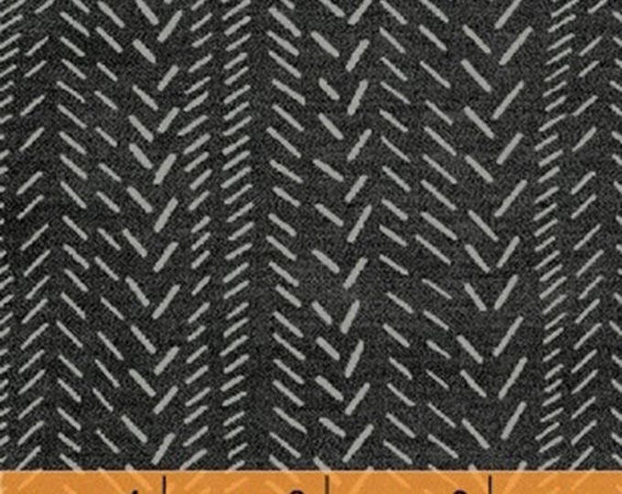 TITAN - Herringbone in Storm Grey - Cotton Quilt Fabric - Geometric Blenders - Another Point of View for Windham Fabrics - 50048-1 (W4450)