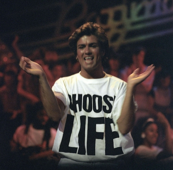 Image result for wham T shirt george michael