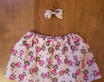 Fairy Skirt and Hair Bow Set