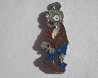 a colorful 34 mm (ER78) metal zombie charm
