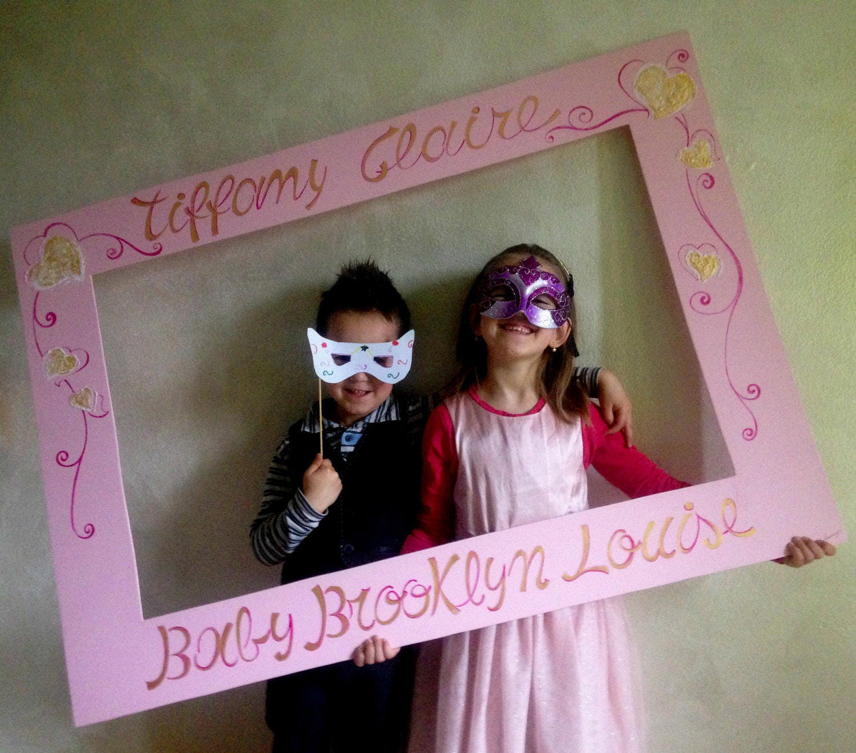 Estremamente Photo booth personalizzato compleanno. Cornice personalizzata EL23