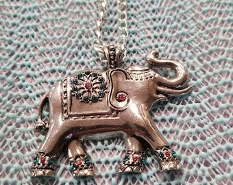 India elephant necklace