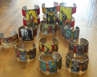 Tarot bracelets Destash Wholesale Repurpose Lot of 12 bracelets