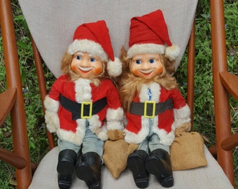 Scandinavian Twin Tomte Dolls