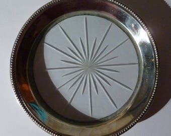 Frank M. Whiting Sterling Silver Bottle Coaster