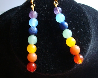the color of chakra earrings