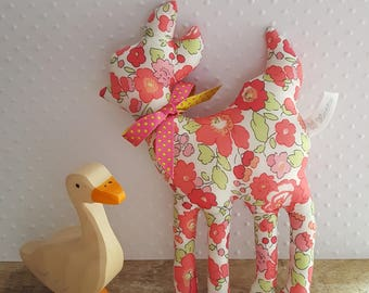 Little deer toy liberty Betsy pink Leo.
