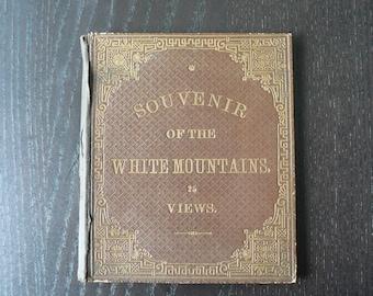 White Mountains NH Photo Book Memorabilia