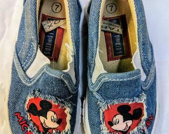 Vintage - Micky for Kids - Shoes - Disney - Micky Mouse