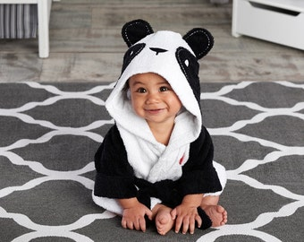 Infant's Personalized Panda Spa Robe