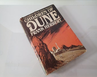 Dune, The Children Of by Frank Herbert - 3 in Dune Trilogy - Science Fiction