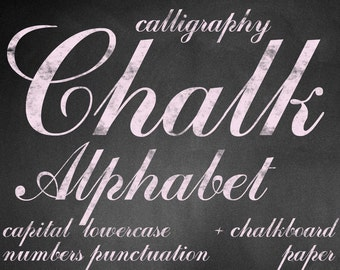 Digital Pink Chalkboards Alphabet for scrapbooking, chalk clipart, Papercrafts, Wedding Decor, Instant Download, printable lettering (9)