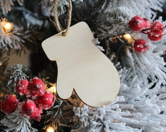 Mitten Ornament   Free Shipping