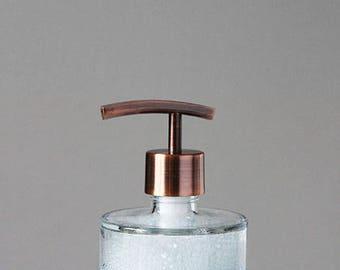 Soap Dispenser   Seaside Spa Glass Soap Dispenser