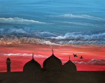 Badshahi Mosque Print