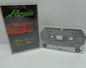 Poison Open Up and Say Ahh Cassette