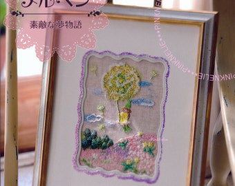 135 French Embroidery Patterns - Japanese Craft Book